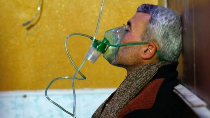 North Korea was providing Syria with equipment necessary to create chemical weapons