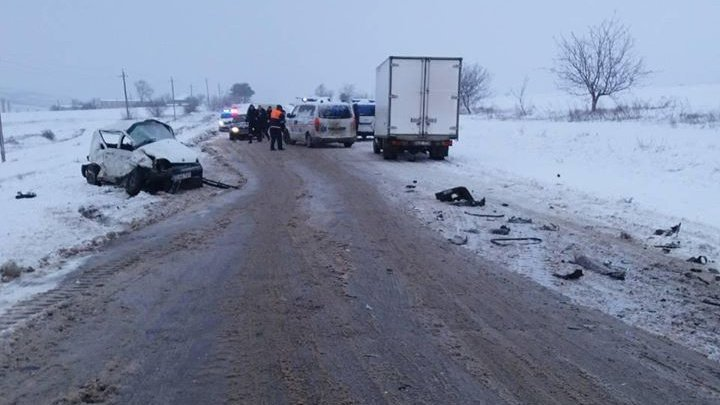 People killed in Telenești accident drove car without winter tires