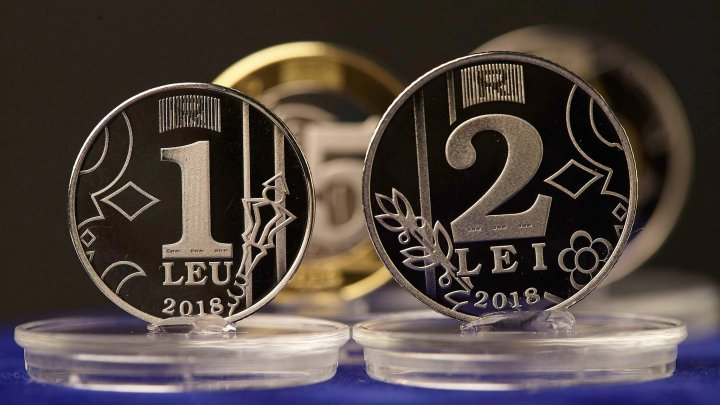 Moldova's Central Bank launched new coins of 1, 2, 5 and 10 lei (Photo)