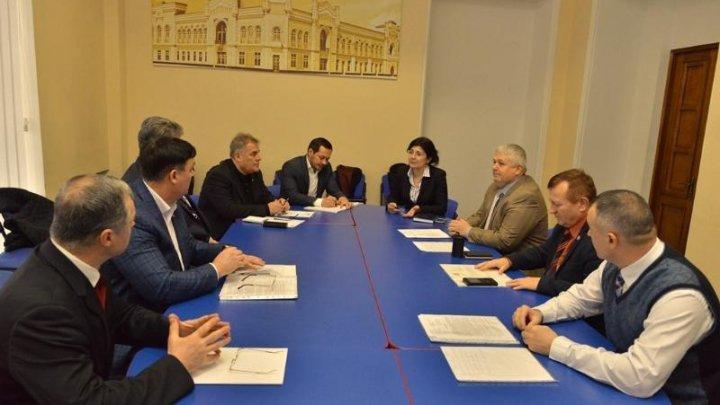 Chisinau acting Mayor in meeting with representatives of War Veterans Association