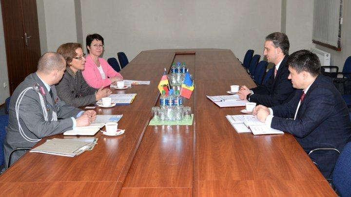 Moldova - German collaboration, topic discussed in Defense Ministry