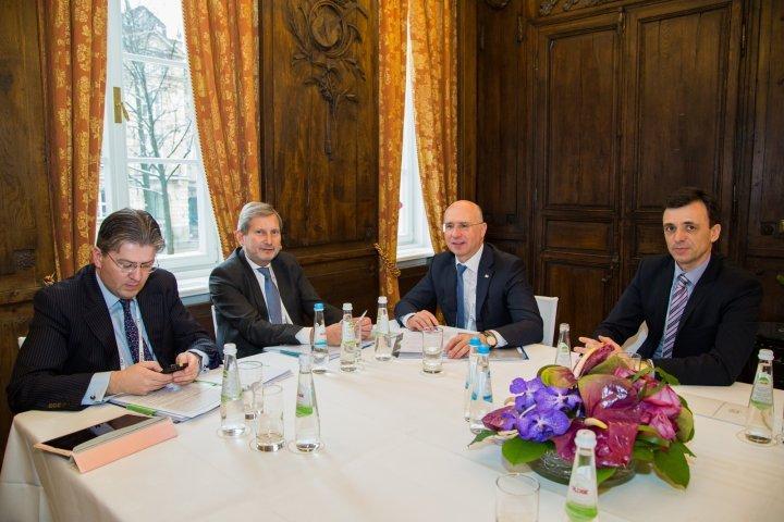 European Commissioner Johannes Hahn supports Republic of Moldova's European track