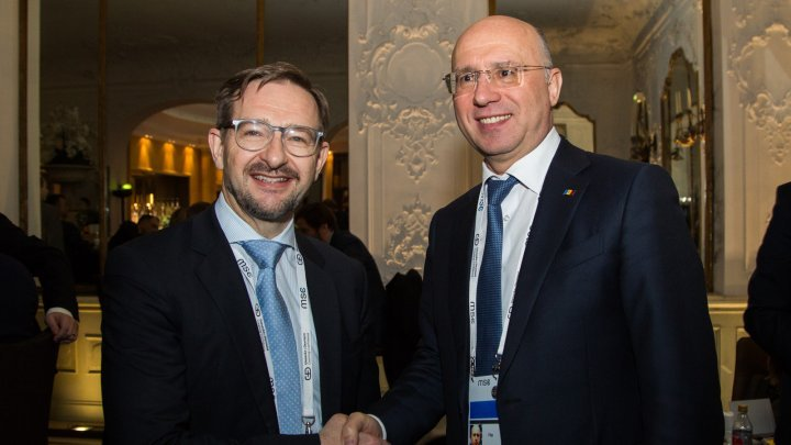 Transnistrian conflict discussed by PM Pavel Filip and Secretary General of OSCE, Thomas Greminger