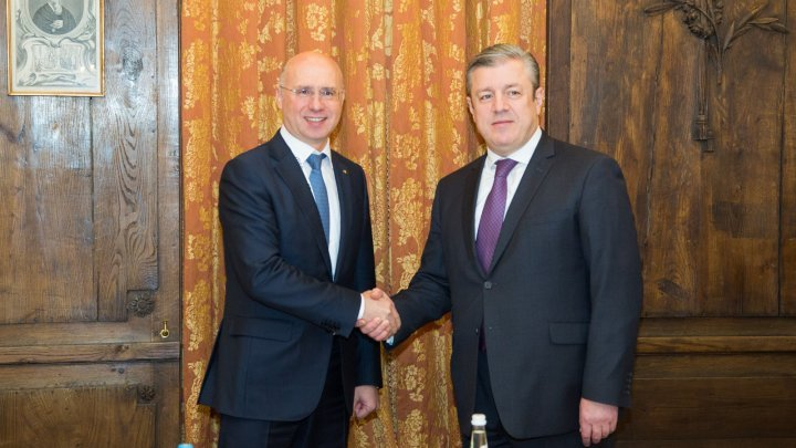 Moldova and Georgia to intensify bilateral dialogue