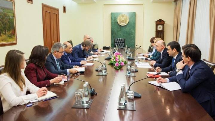 EBRD projects in Moldova, topic in discussion between Premier Pavel Filip and EBRD President Sumak Chakrabarti
