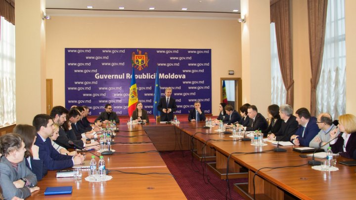 Iurie Leancă hosted first reunion of the Task Force for European integration