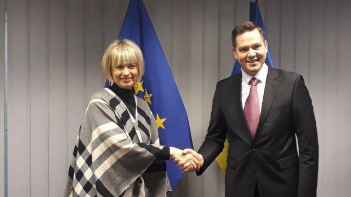 Minister Tudor Ulianovschi met Helga Schmid, Secretary General of European External Action Service