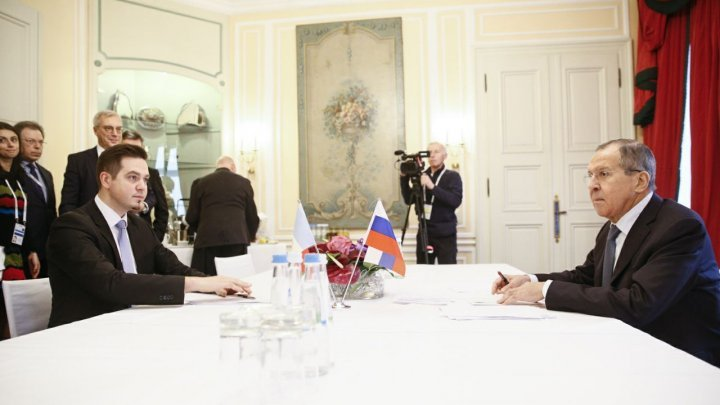 Tudor Ulianovschi and Serghei Lavrov held a meeting at Munich Security Conference