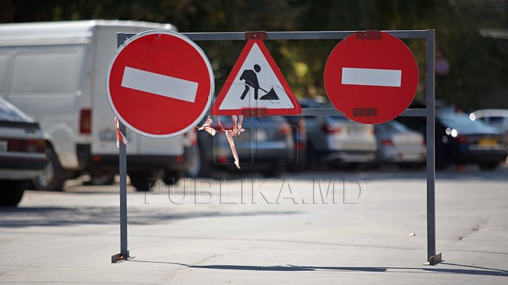Warning for Drives. Several streets from Capital will be restricted