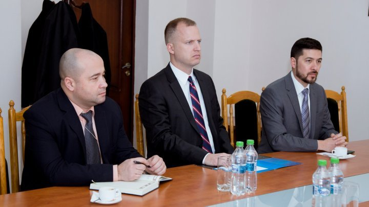 Meeting between Border Police Head and representatives of the United States Embassy in Moldova