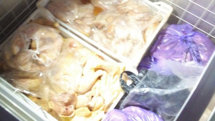 ANSA found 93 kg of poultry meat being sold without certificates of origin