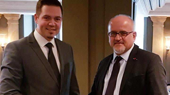 Minister Tudor Ulianovschi met Minister of Foreign Affairs of Montenegro, Srđan Darmanović