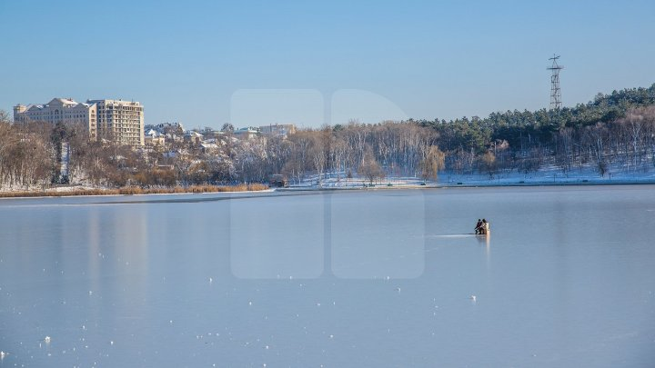 Yellow Warning of thin ice on rivers, lakes and drainage basins issued in Moldova