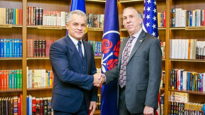 Vlad Plahotniuc and James Pettit spoke of reforms and Moldova's priorities for 2018