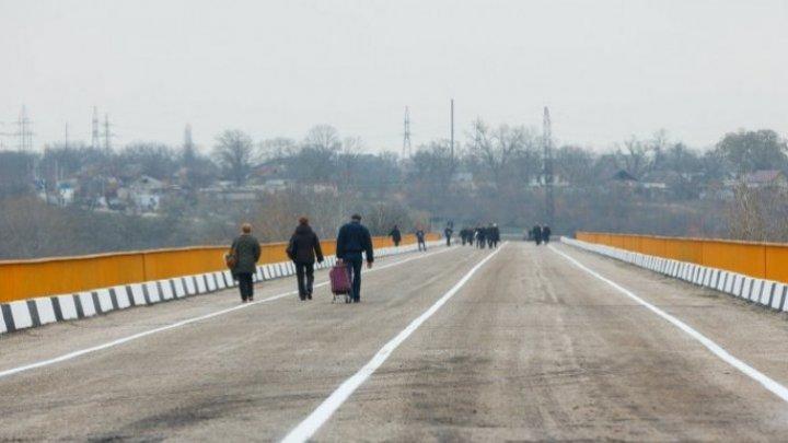 New tensions upon bridge from Gura Bâcului. Tiraspol to construct customs terminal