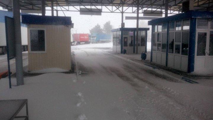 Winter causes havoc. Vulcănești Customs closed due to roads being snowed in