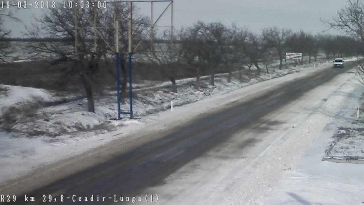 YELLOW Warning of rare snow in Moldova. How to join traffic