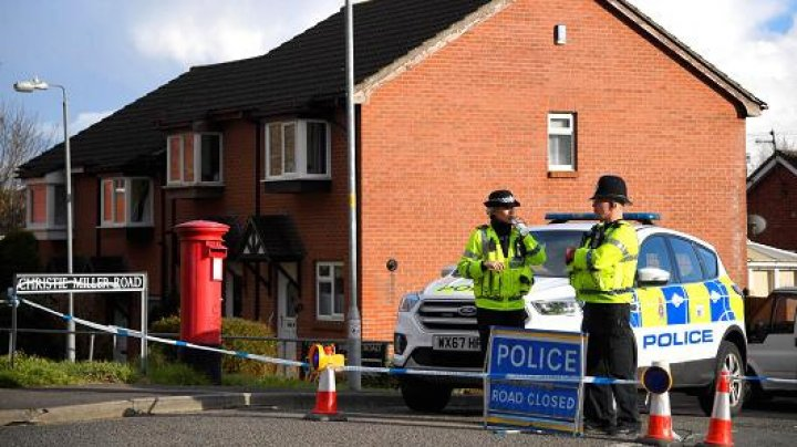 Ex-Russian spy poisoned by nerve agent on door of home in England, police confirm