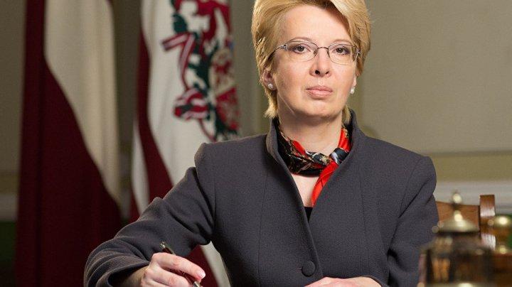 Speaker of the Saeima, Ināra Mūrniece on official visit to Moldova