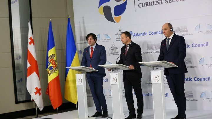 Security Summit: Moldova, Georgia and Ukraine condemn Russia's aggressive actions in region