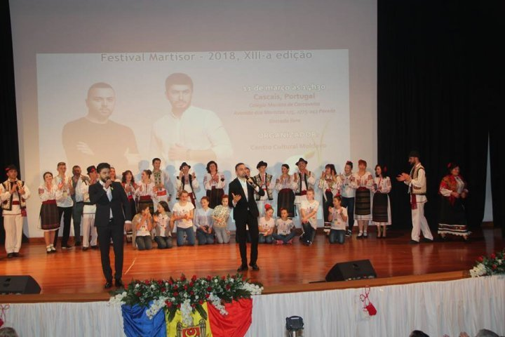 Martisor festival delightfully organized by Moldovans in Portugal