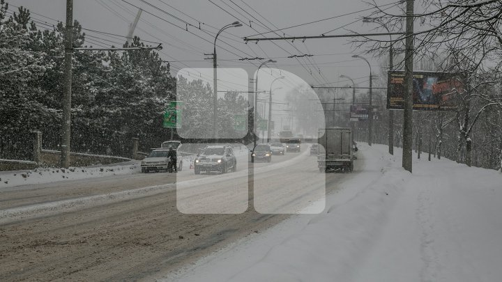 Heavy snowfall to last until midnight - informs State Hydro-meteorological Service