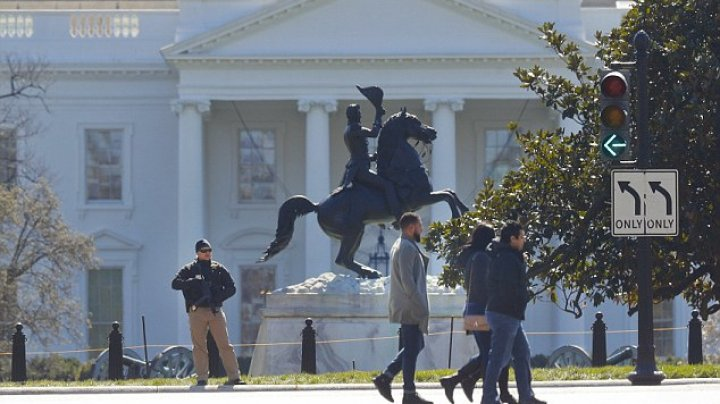 Man who shot himself outside the White House on Saturday identified