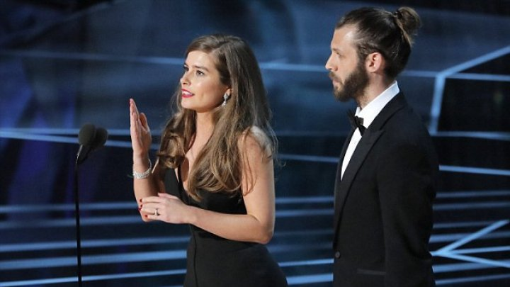 Rachel Shenton offered speech in British Sign Language, after winning Oscar for her film The Silent Child