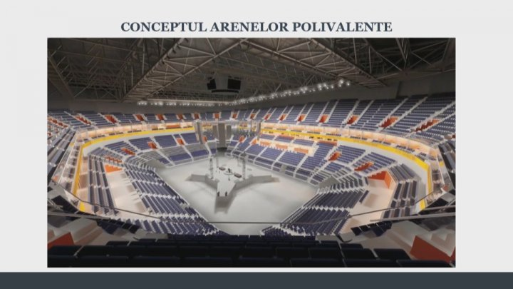 PDM launches first public-private partnership project. New arena to be built in Chisinau (FOTO)