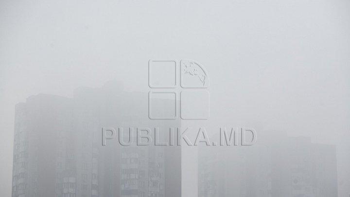Dense fog caused flight delays at Chisinau Airport