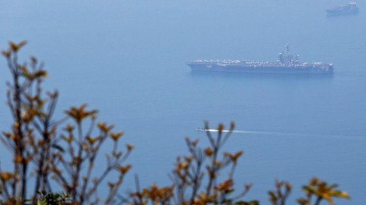 U.S. aircraft carrier visiting Vietnam for the first time since 1975