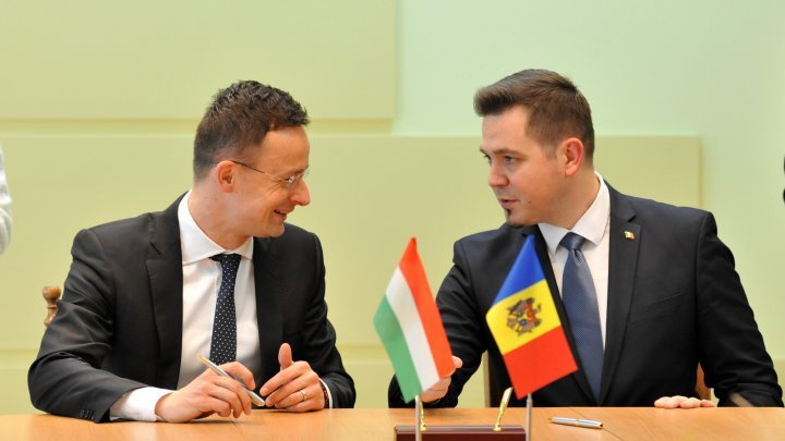 Hungary - Moldova cooperation in multiple areas, discussed by Foreign Ministers Tudor Ulianovschi and Péter Szijjártó