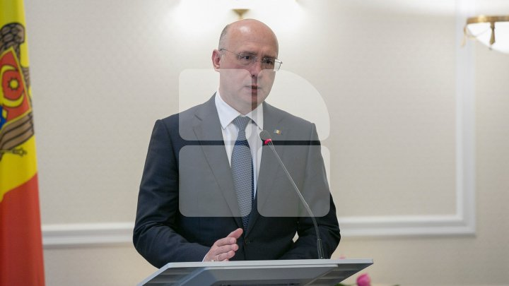 Premier Pavel Filip celebrates his 52th birthday