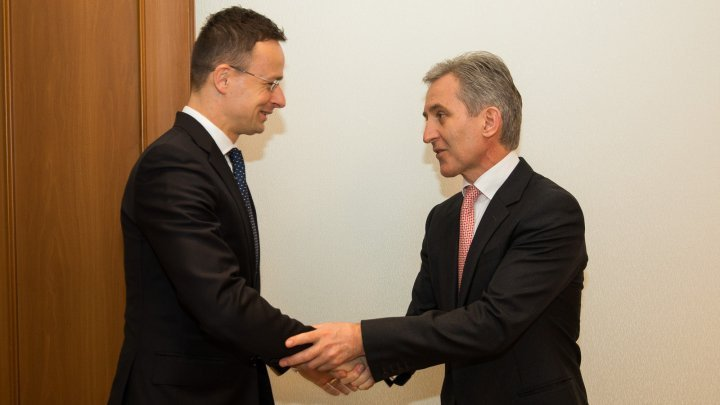 Meeting between Vice Premier Iurie Leanca and Hungarian Foreign Minister Péter Szijjártó