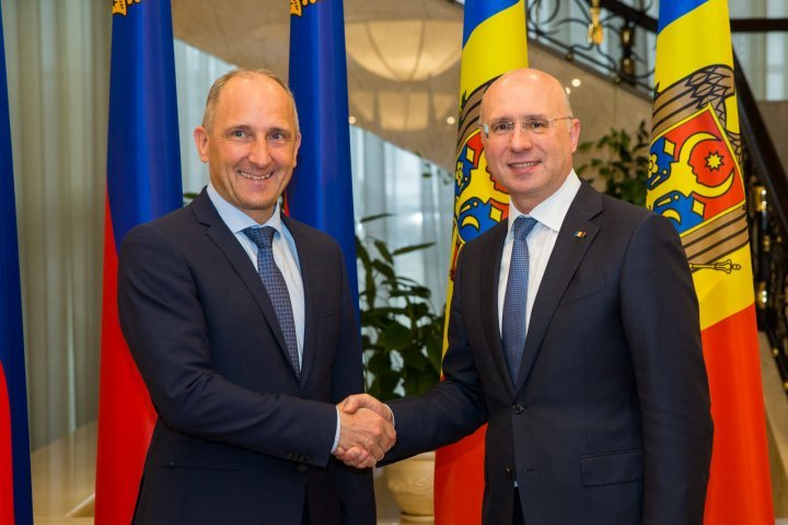Pavel Filip and Liechtenstein PM Adrian Hasler pledge to stimulate bilateral relations