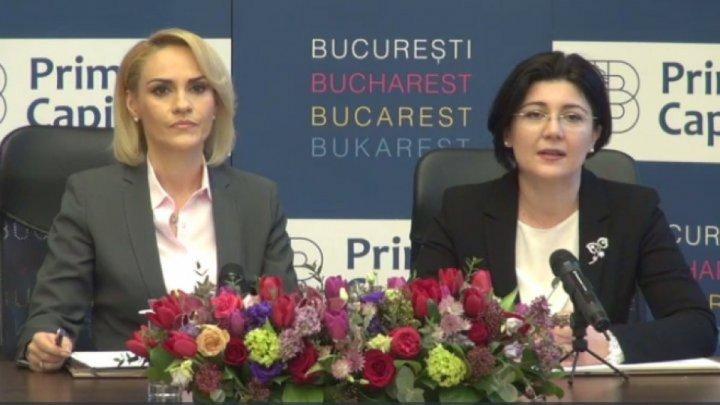 Mayor of Bucharest, Gabriela Firea visiting Chisinau. Official will meet with Silvia Radu