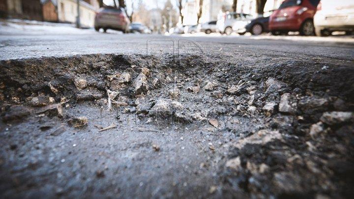 Bălţi - huge trap for drivers