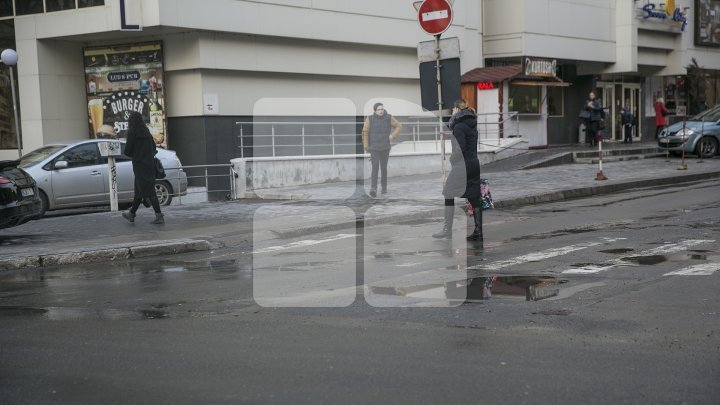 Road repair works begin in Chisinau