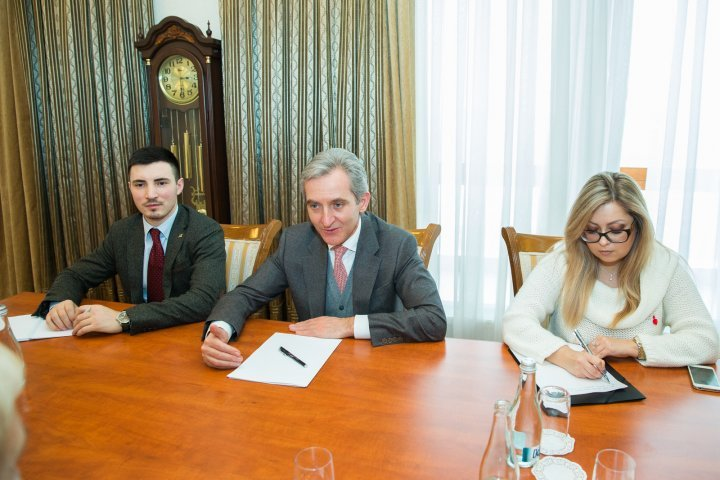 Deputy Prime Minister, Iurie Leanca met today with Parliament of Poland and Seimas delegations