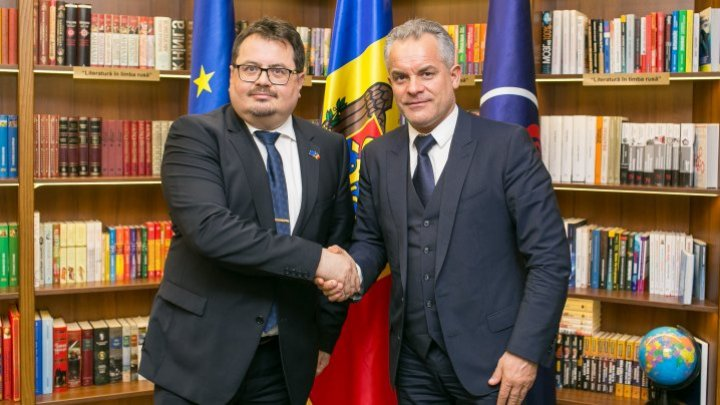 PDM leader, Vlad Plahotniuc hold meeting with Peter Michalko, EU Ambassador