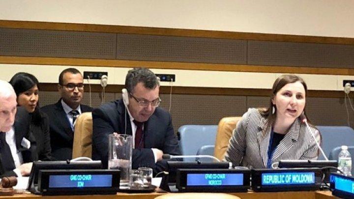 State Secretary Daniela Morari participated UN International Migration Dialogue held in New York