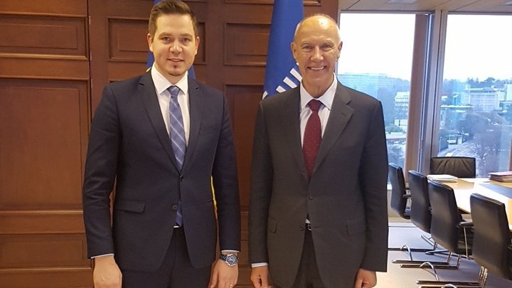 Tudor Ulianovschi met with Director General of WIPO, Francis Gurry