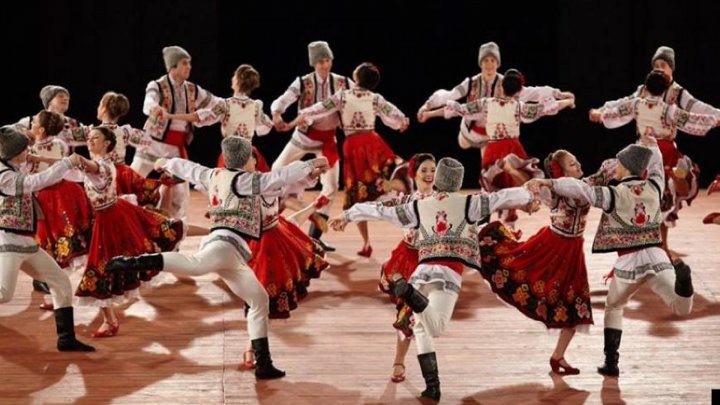 Mărțișor - 2018: Joc dance ensemble entertained its guests on the stage of National Palace