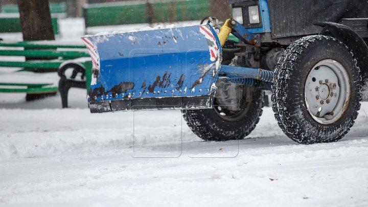 Traffic kept normal regardless of heavy snowfall