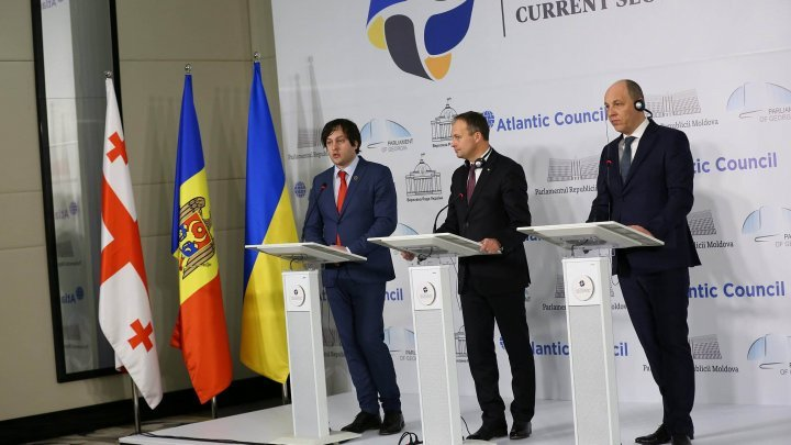 #parl4sec. Moldova, Georgia, Ukraine join forces to promote common defense and security policies