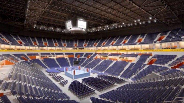 Chişinău Arena, a boost for development of sports in Moldova