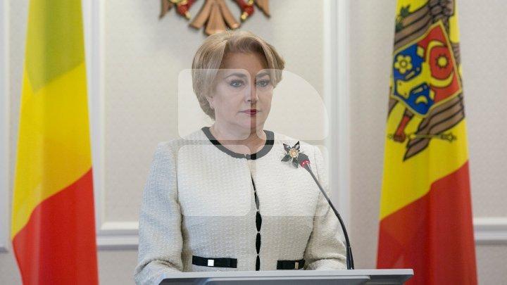 Viorica Dăncilă pledges support to Moldova: Romania always stands by you