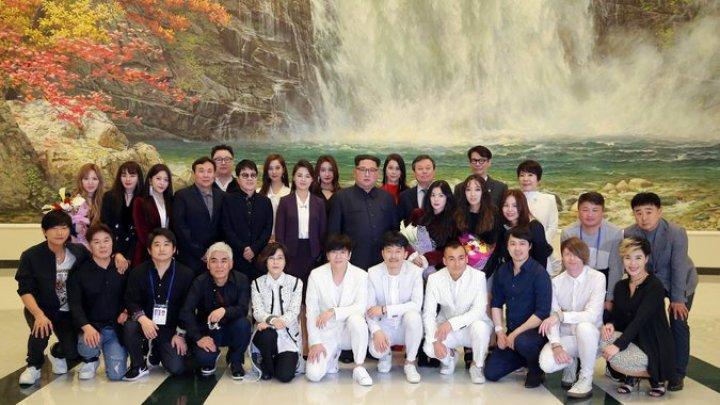 Kim Jong-un attended concert by South Korean musicians in Pyongyang