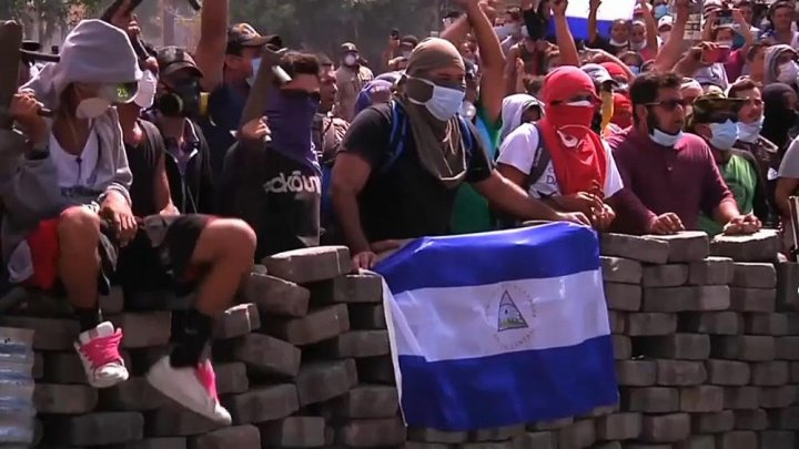 Nicaragua reporter shot dead during Facebook Live of protest