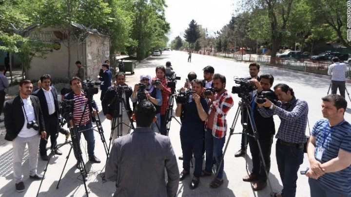 BBC reporter and AFP chief photographer among 30 killed in Afghanistan Monday attacks